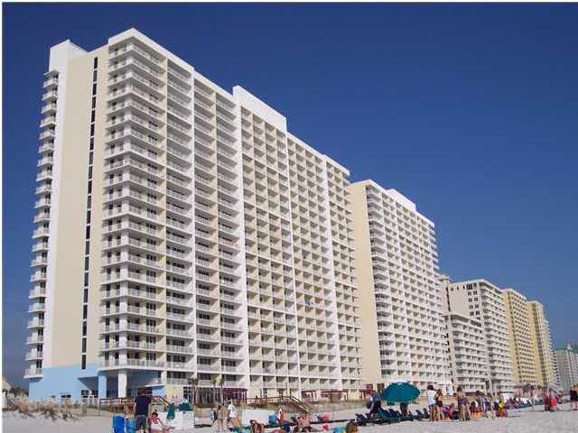 Majestic Beach has amenities like no other! It has a movie theater, a large swimming pool, an indoor heated pool, poolside snack bar, a baby pool, tennis courts, a market, an arcade, and a Starbucks, just to mention a few! Majestic Beach Resort is in the middle of all the action! Just a few miles away from Pier Park and just minutes away from groceries, mini golf, and tons of things to do!